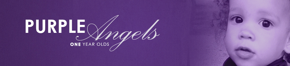 Purple Angels (1 Year Olds) banner