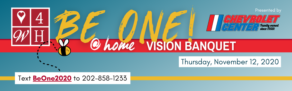2020 Be One! Vision Banquet- Givebutter image