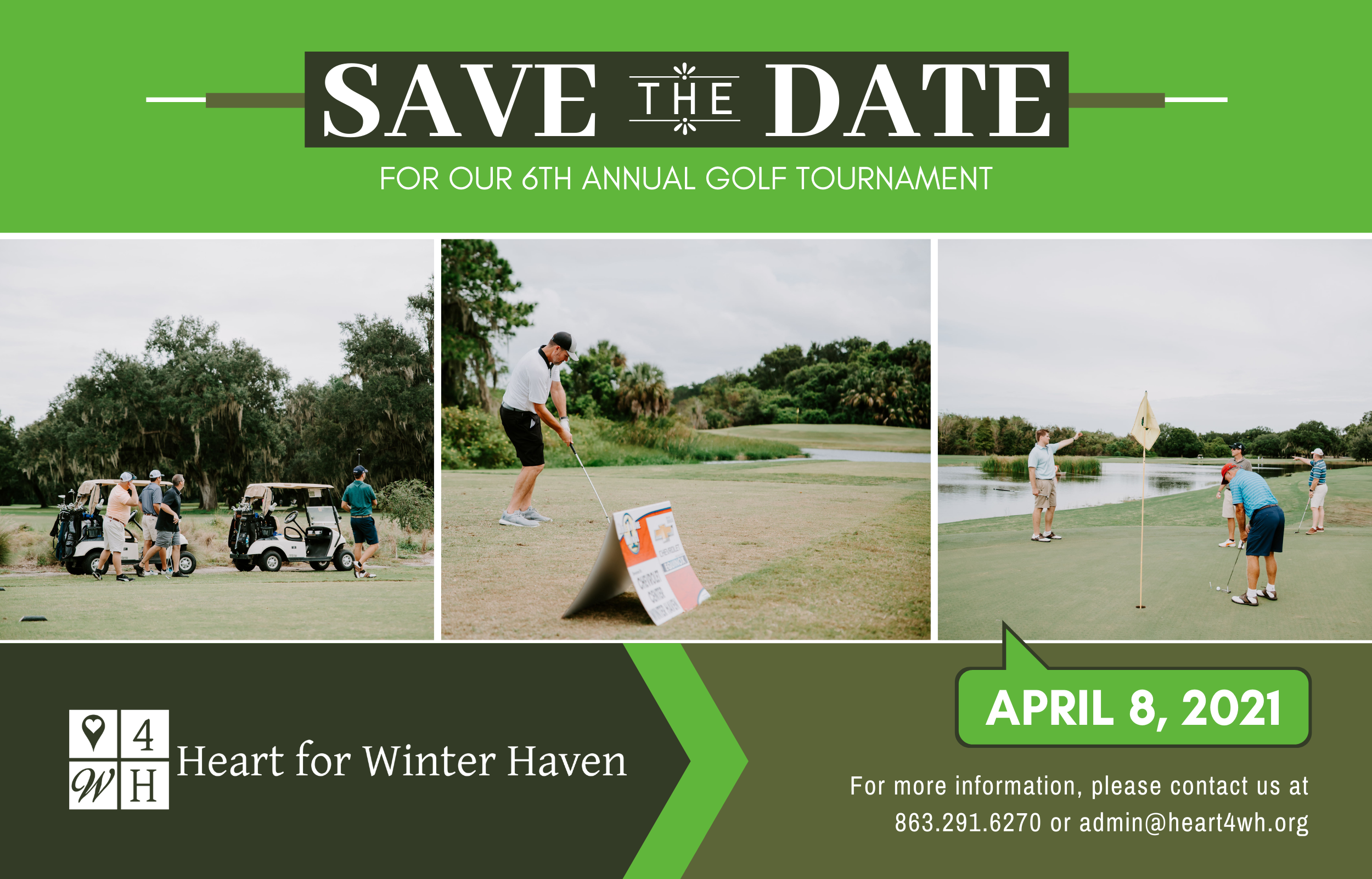 2021 Golf Tournament Save the Date- Website Rotator