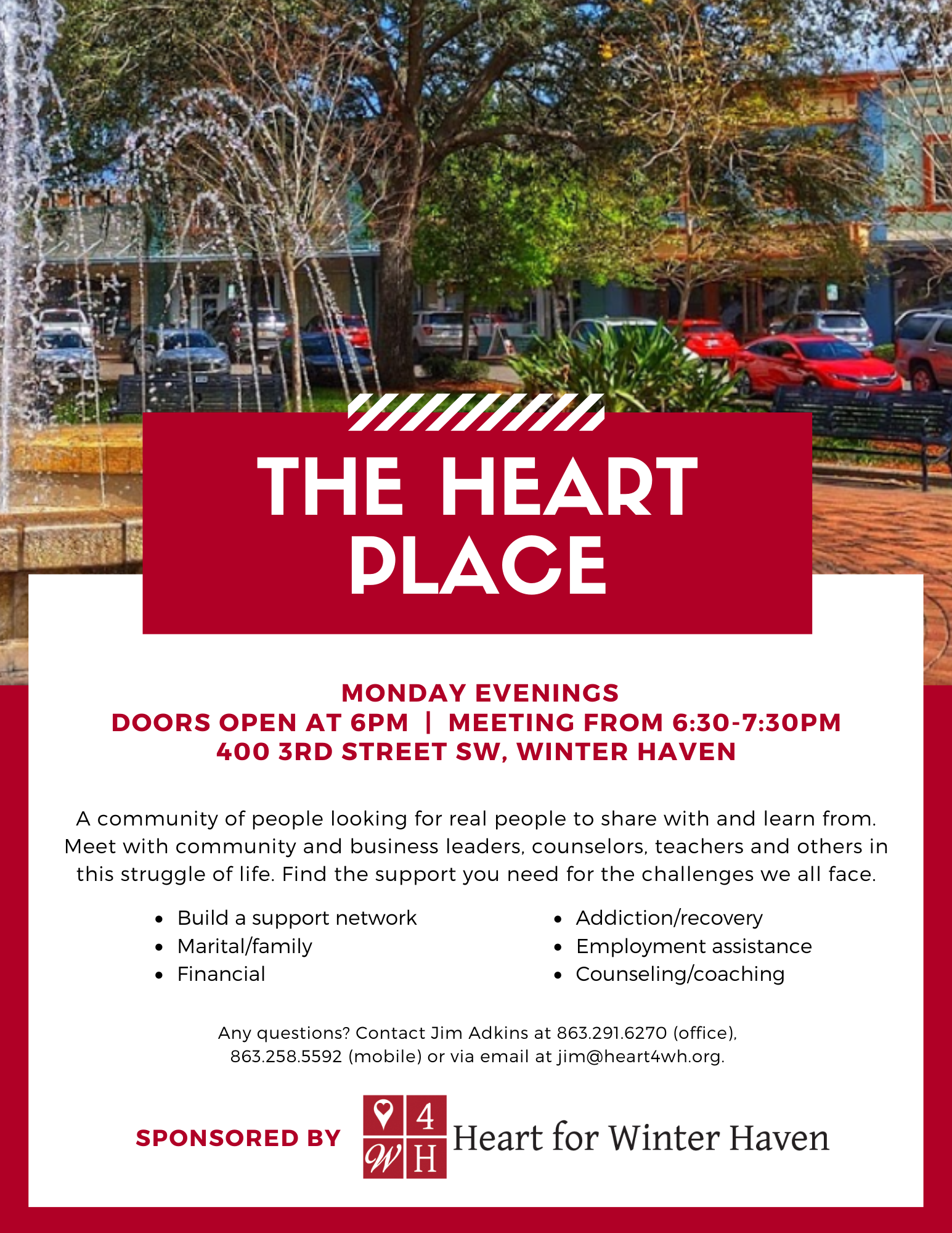 The Heart Place flyer