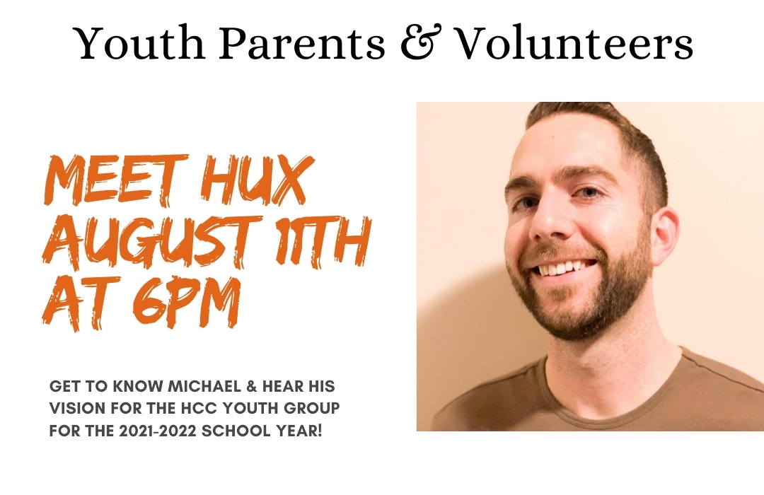 meet hux august 11th at 6pm image