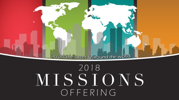 Missions Offering 2018
