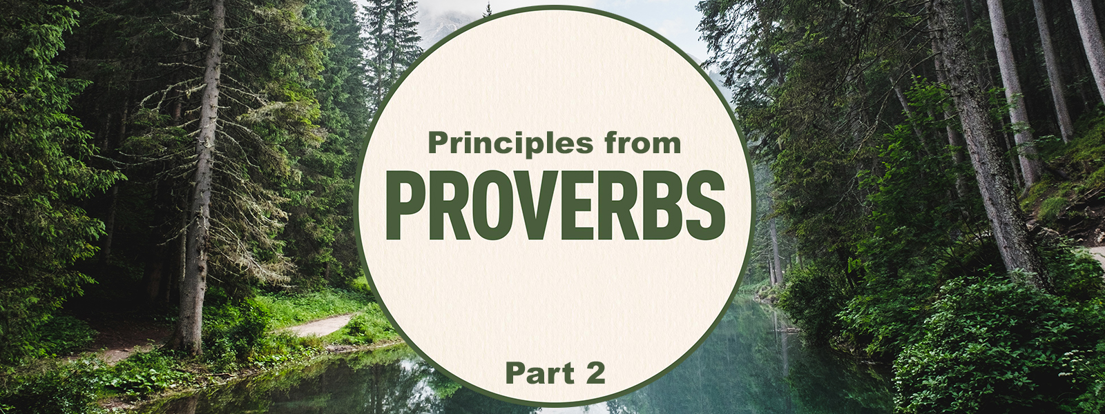 Priciples from Proverbs 2