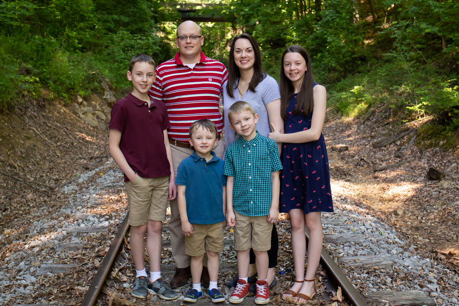 Pastor Jared Moore Family