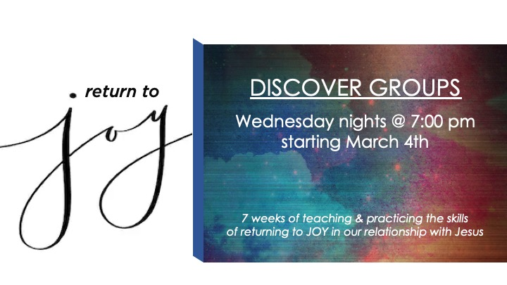 Discover Group-Return to Joy