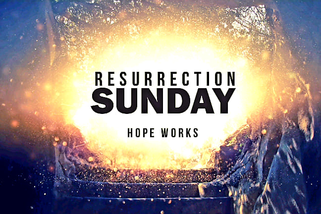 The Power of the Resurrection (Easter Sunday) banner