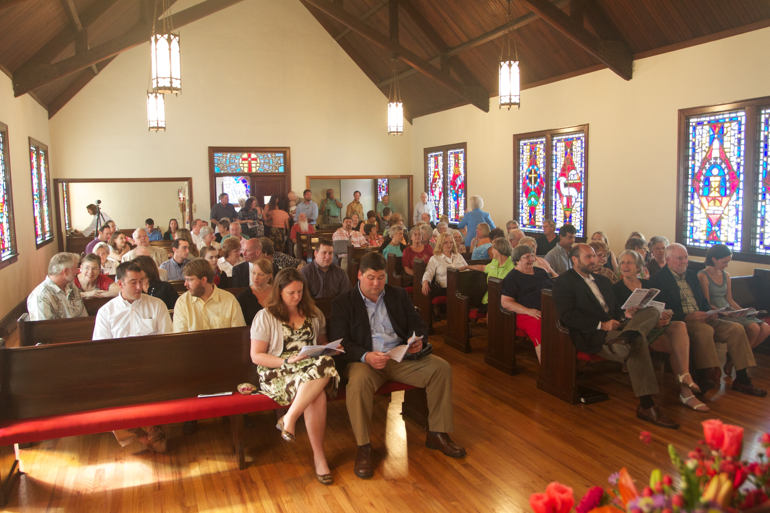 Holy Trinity First service at Eloise 23