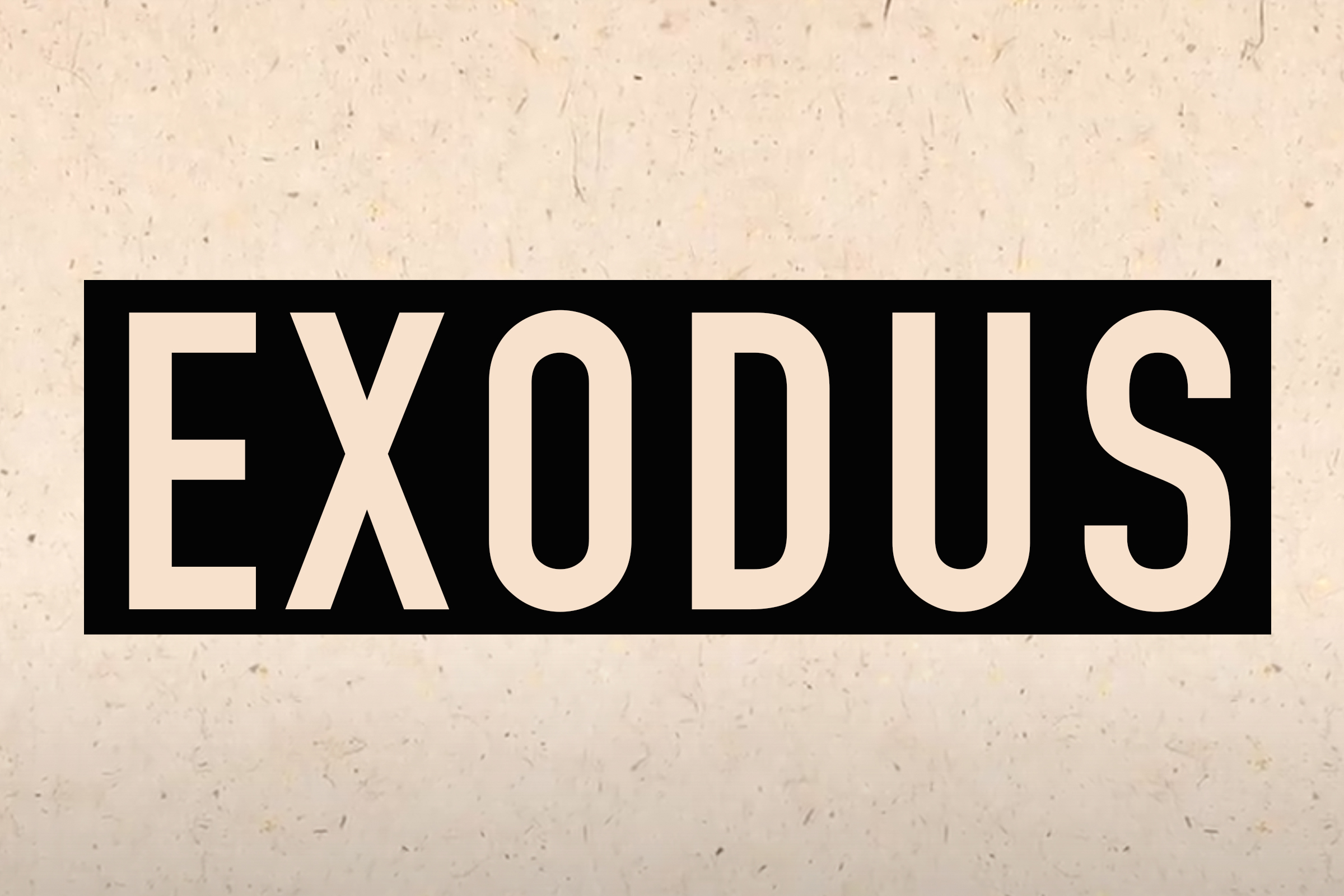 Exodus Devotional