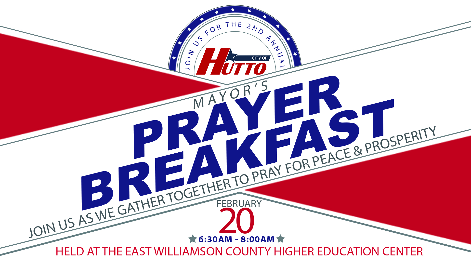 Mayors Prayer Breakfast - FB EVENT IMAGE 1920 by 1080