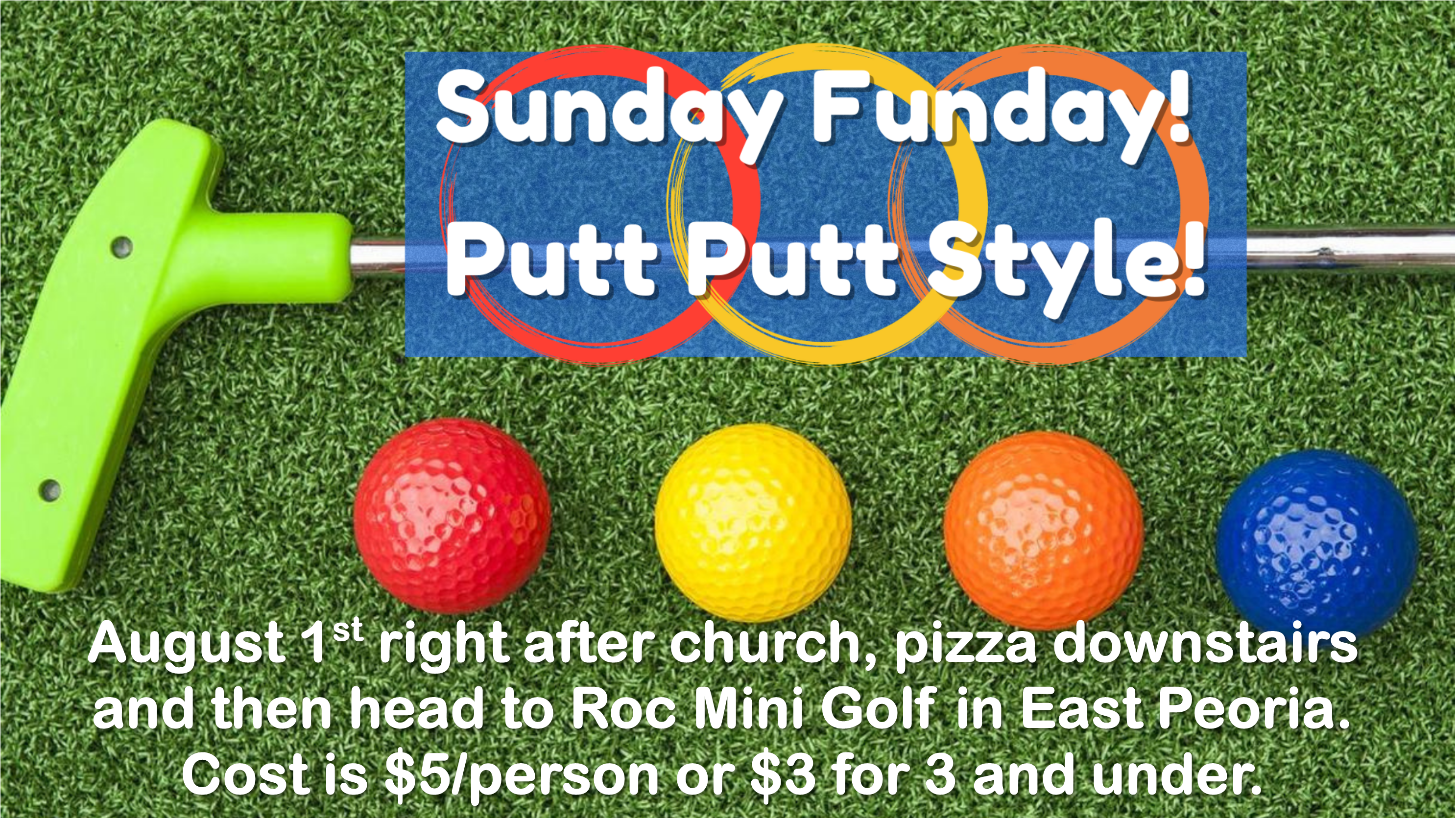 Sunday Funday Announcement Slide