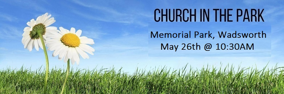 Church in the Park - Memorial Park banner