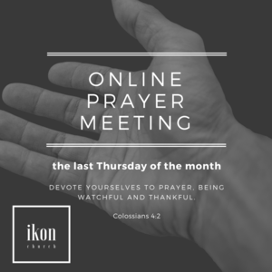 Online Prayer Meeting banner