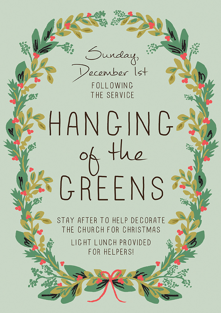 2019-12 Hanging-of-the-Greens image