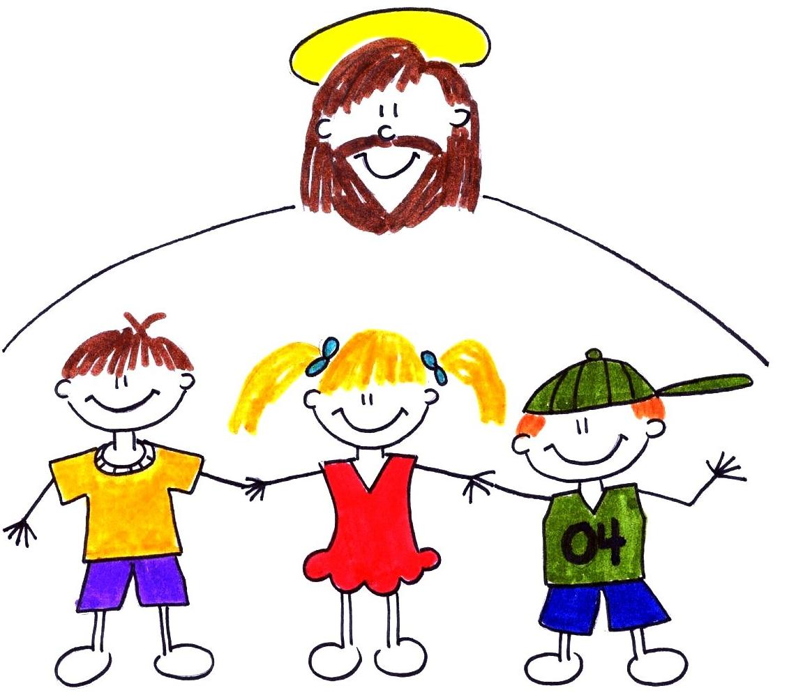 children with Christ