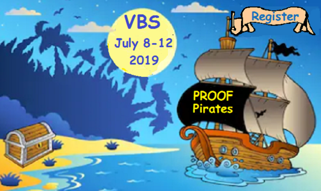 VBS Proof Pirates Logo 2019