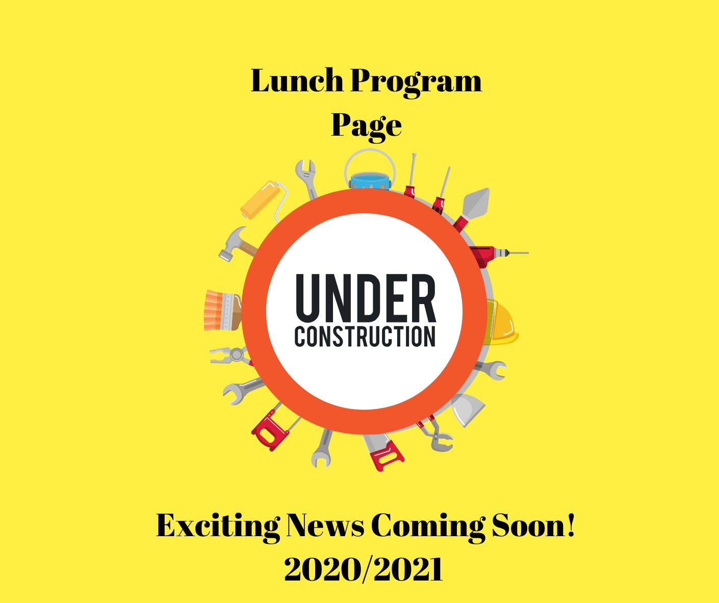 Lunch Program Page