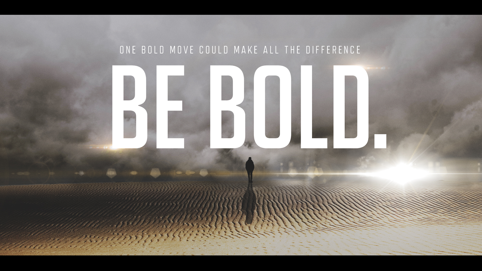 Be Bold Graphic