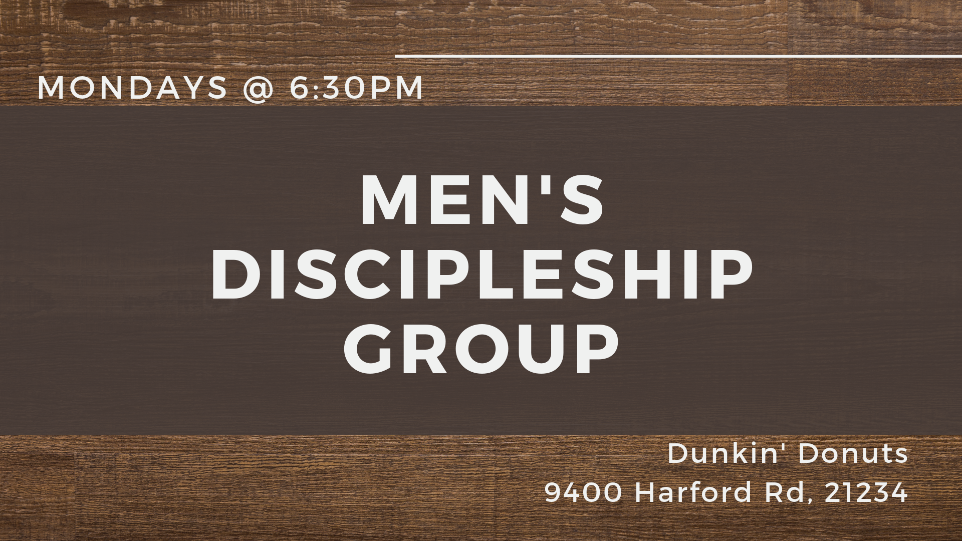 Men's Discipleship groups (1) image