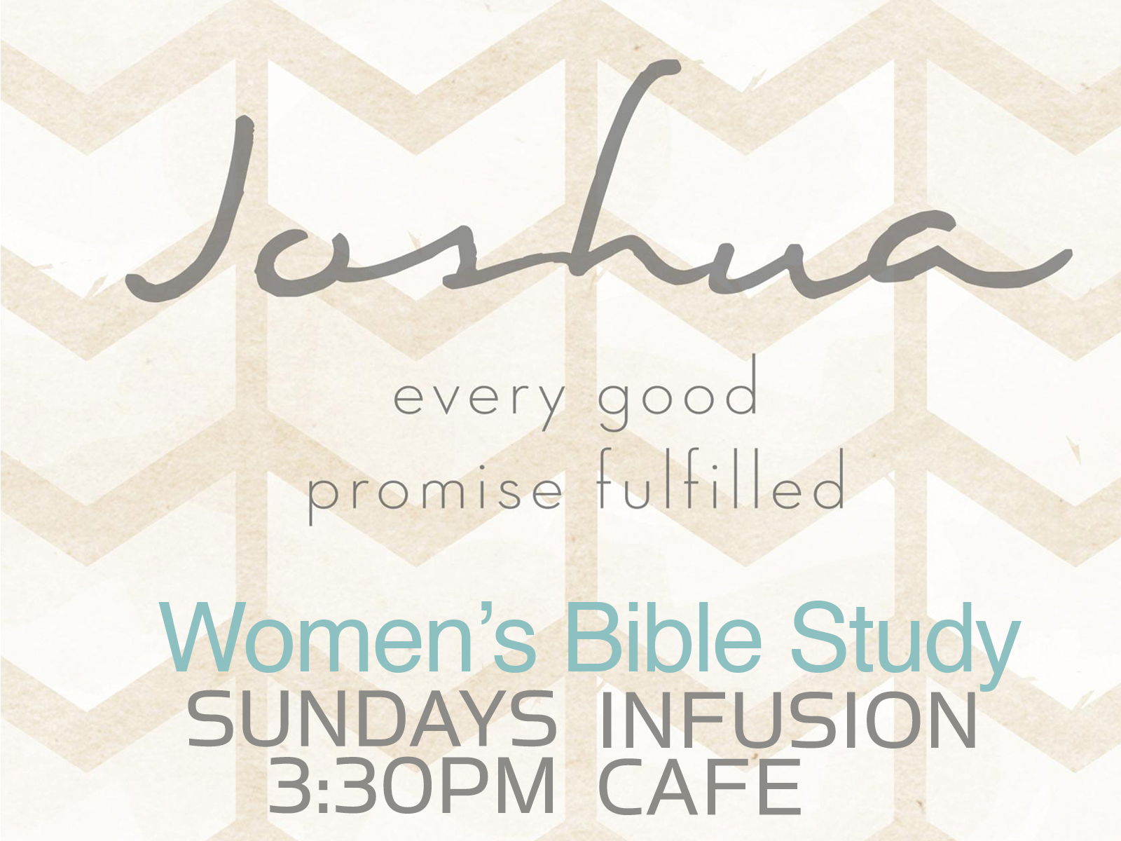 Women's Bible Study Joshua 2017