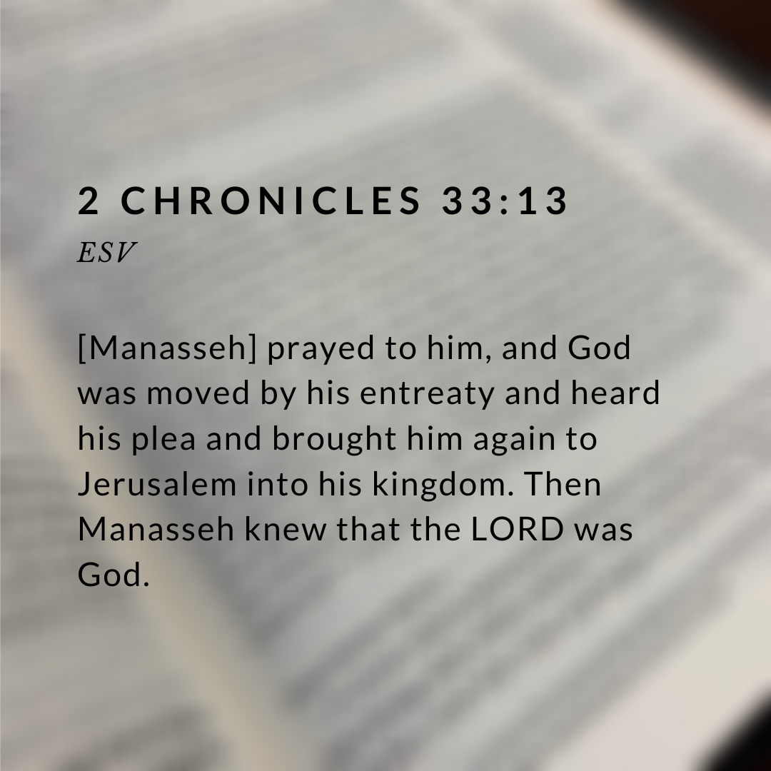 2 Chronicles 33_13