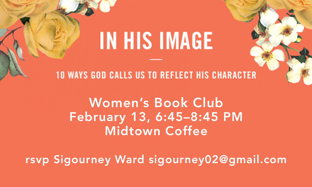Book Club - In His Image image