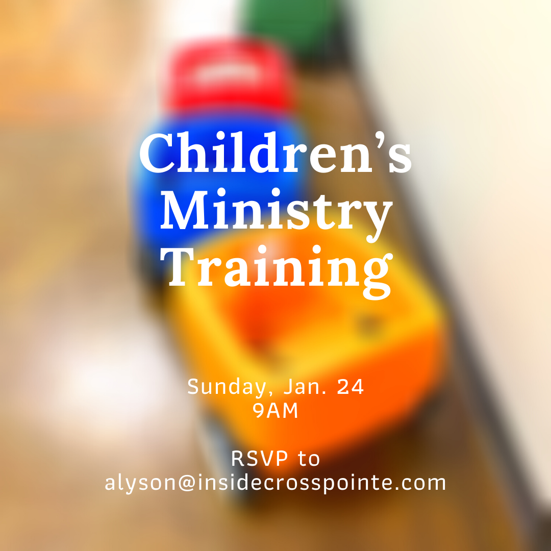 Children's Ministry Training image