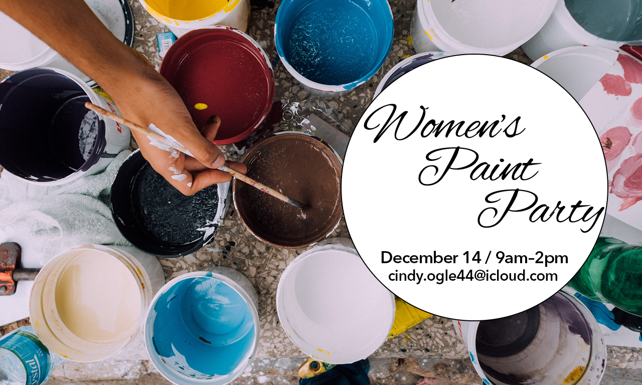Womens Paint Party 2019
