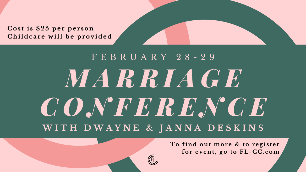 Marriage Conference Graphic image