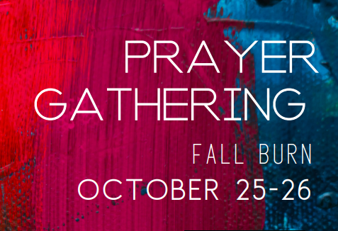 Prayer Gathering Fall Burn 2019 image