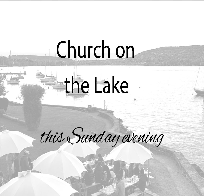 church on lake just picture image