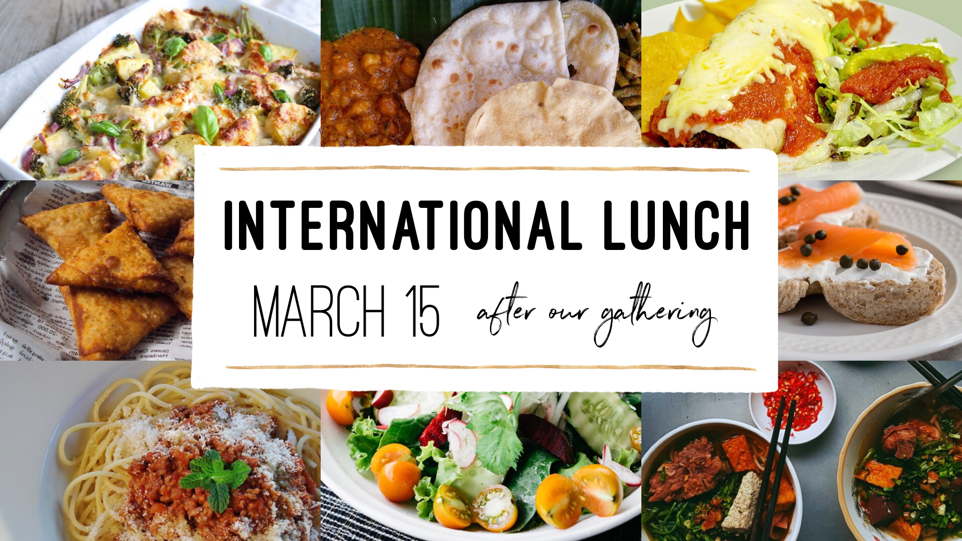 International Lunch March 2020 GS image