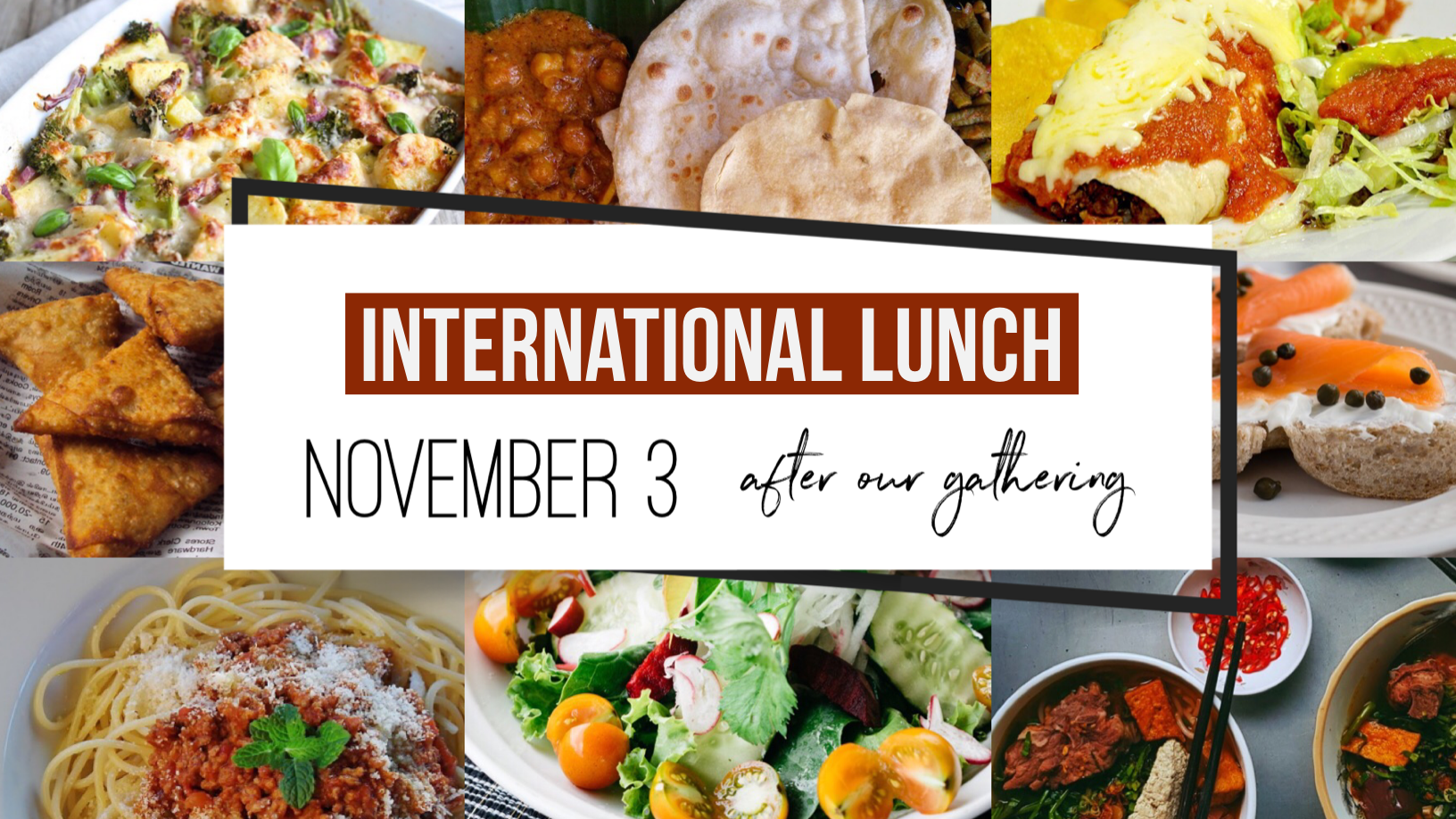 InternationalLunch Fall 2019 image