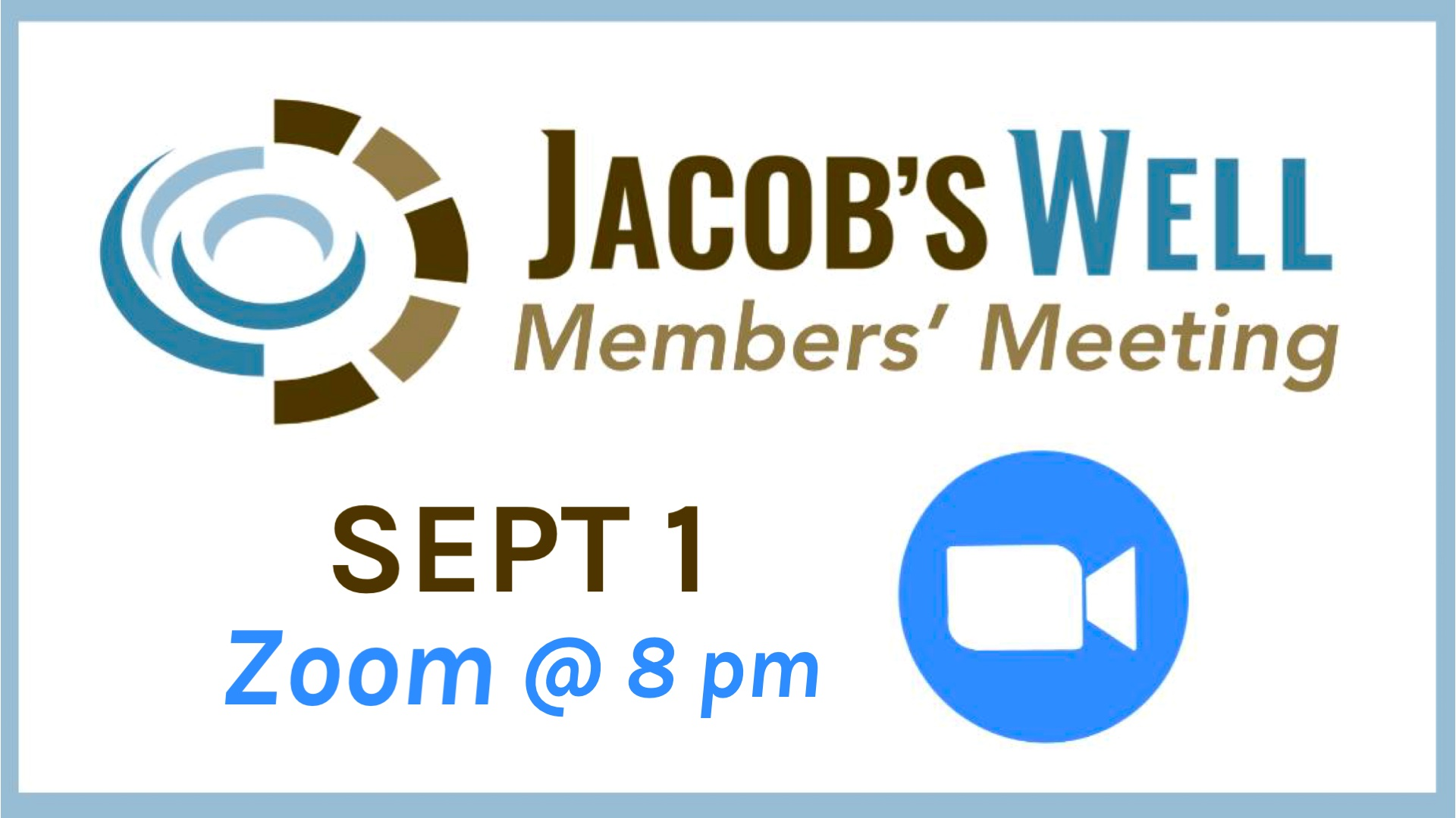 Members' Meeting - Sept 1 - GS Size image