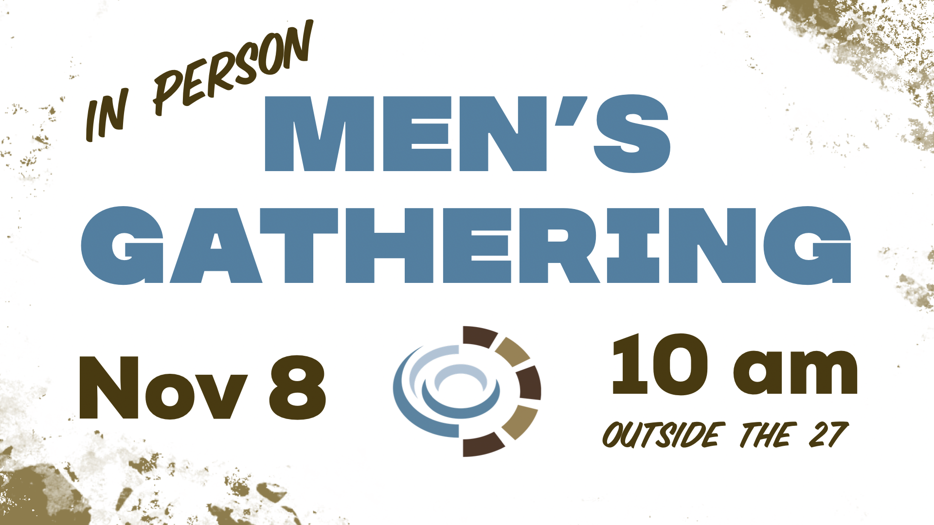 Men's In Person 11.8 graphic - gathering space