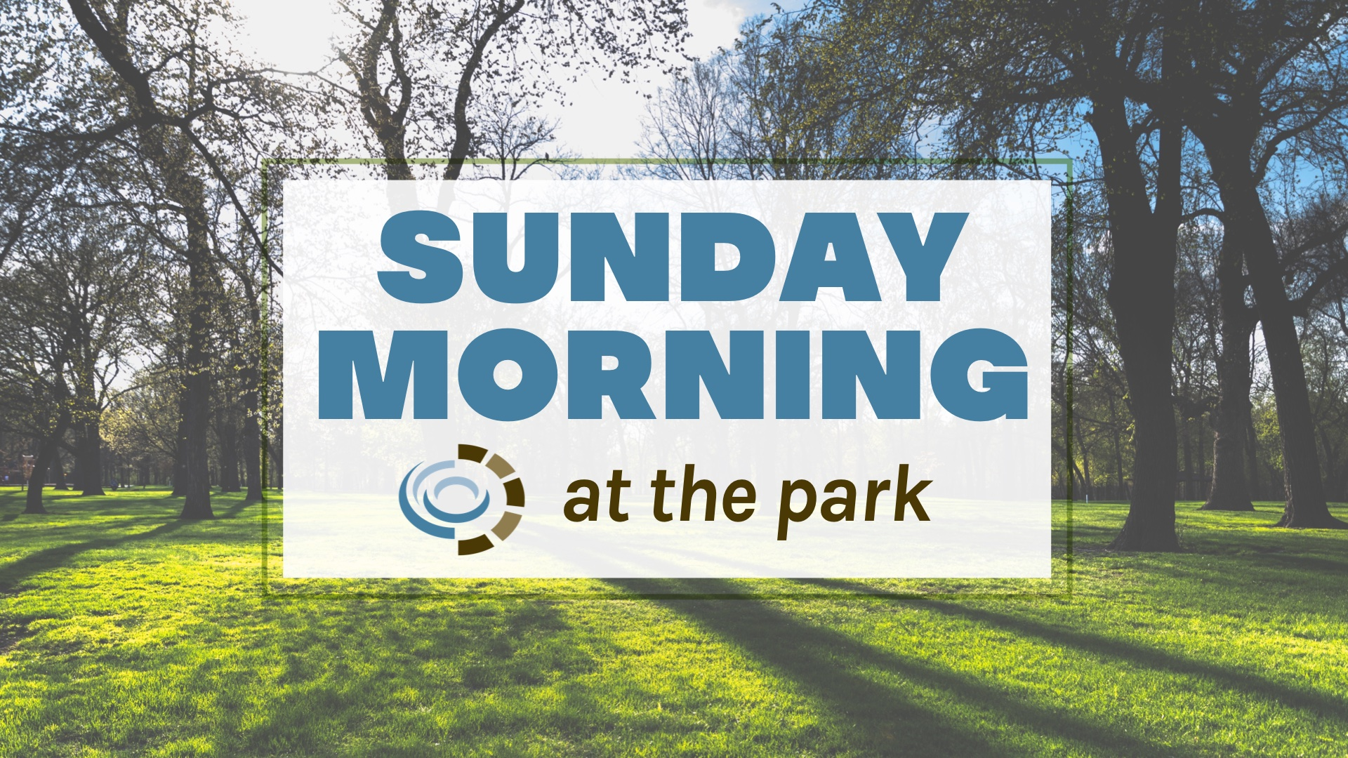 Sunday Morning at the Park graphic - GS size image
