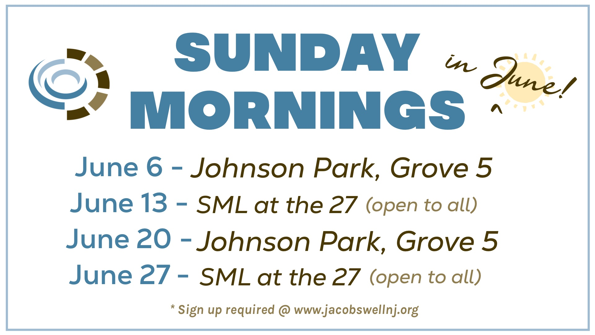 Sunday Mornings in June - GS Size