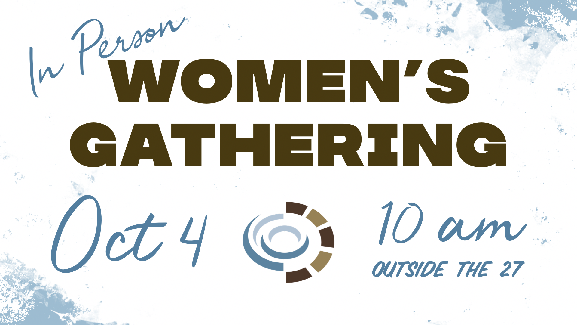 Women's In Person graphic - gathering size image