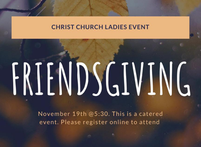 Website - Quicklinks Home Page - Friendsgiving 2020