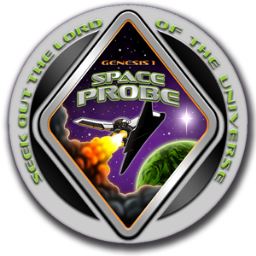 Space Probe Badge
