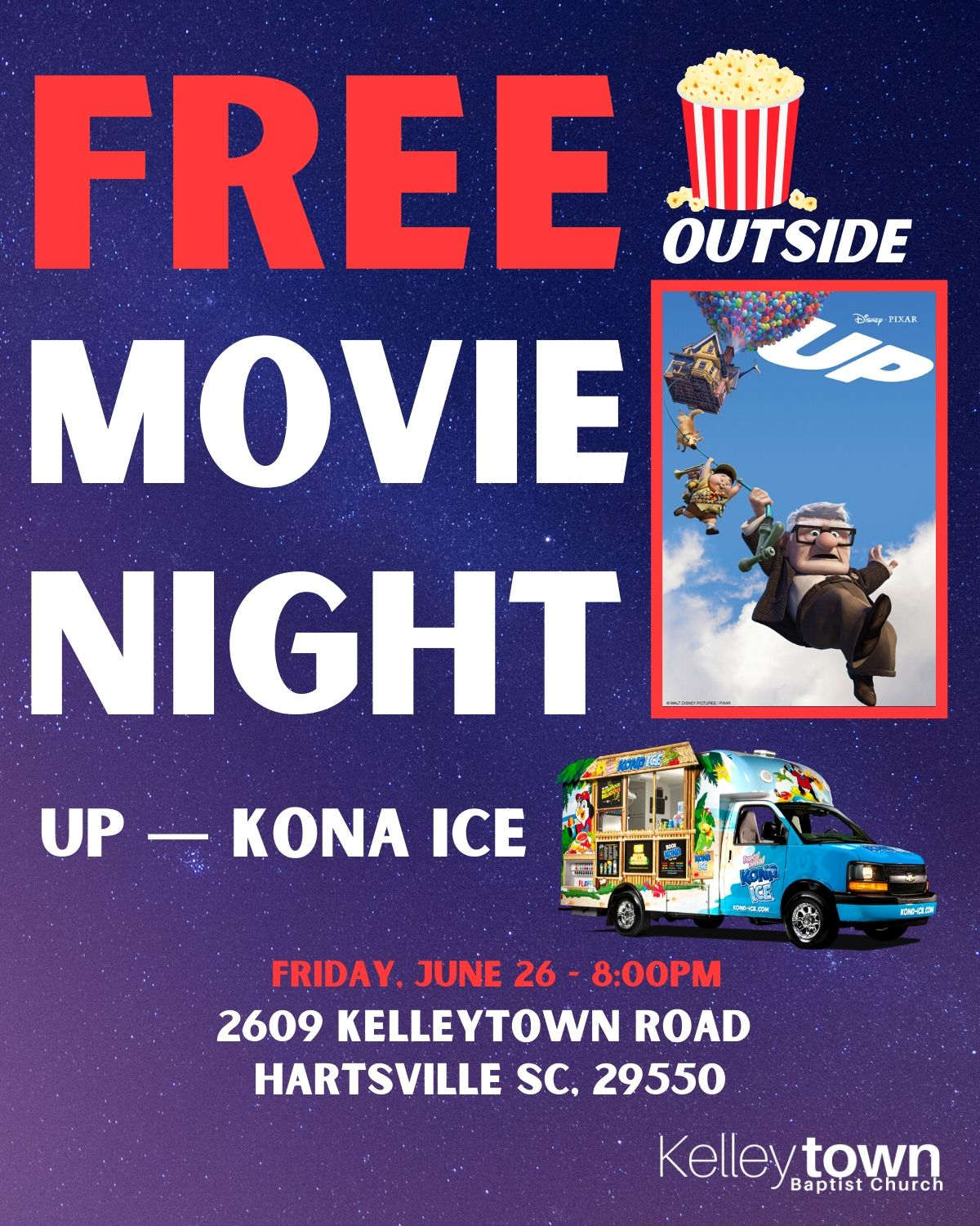 Kelleytown Free Movie Night