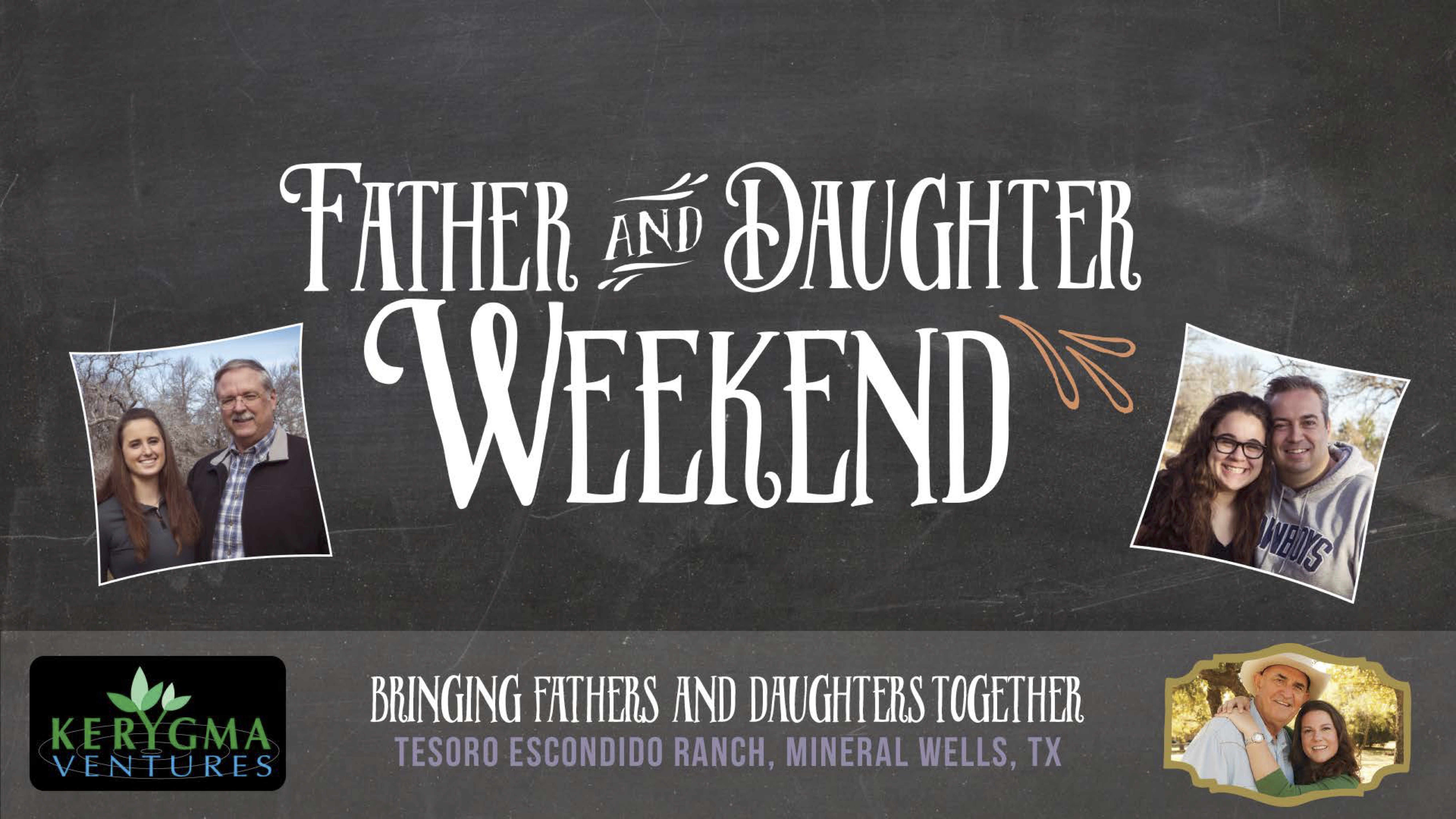 FADW - Father & Daughter Weekend Banner - ND