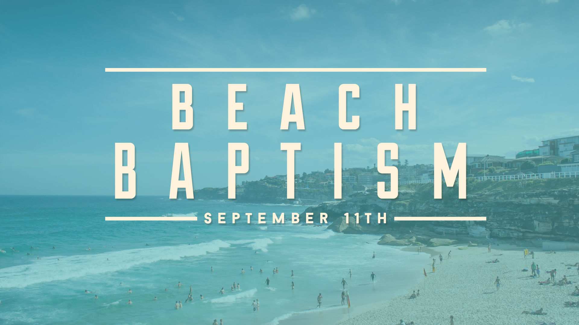 Sept 11 Beach Baptism 2016 Post