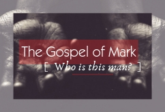 Who is this Man? [The Gospel of Mark] banner