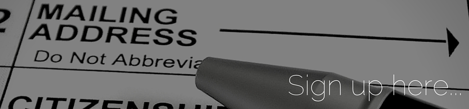 Online Forms banner