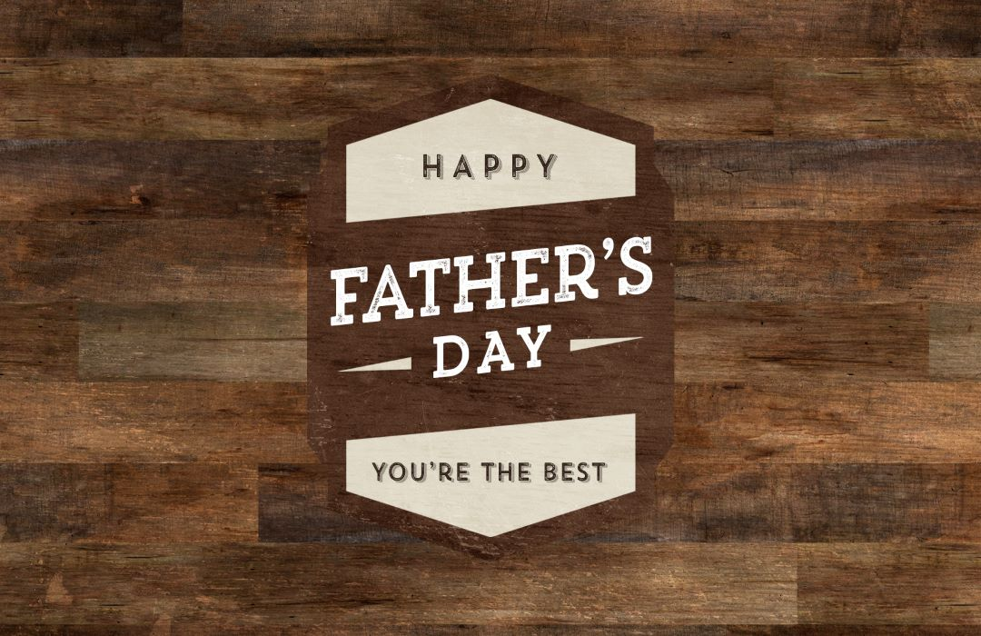 2021 Father's Day Event Graphic image