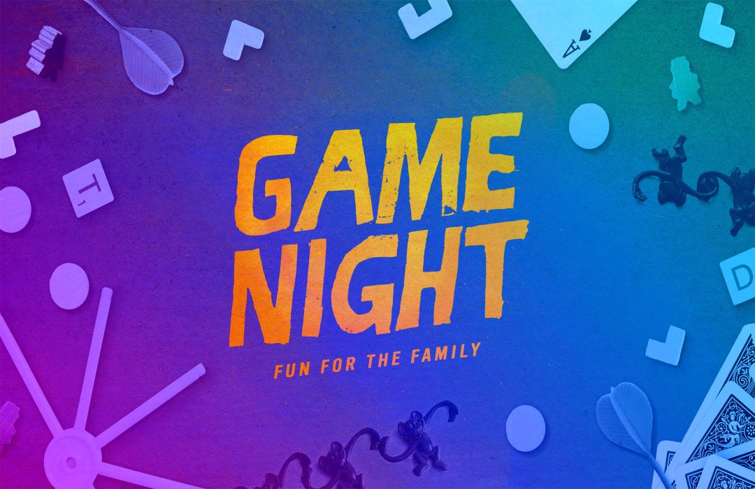 Family Game Night Event Graphic image