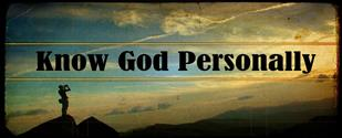 know god personally 2