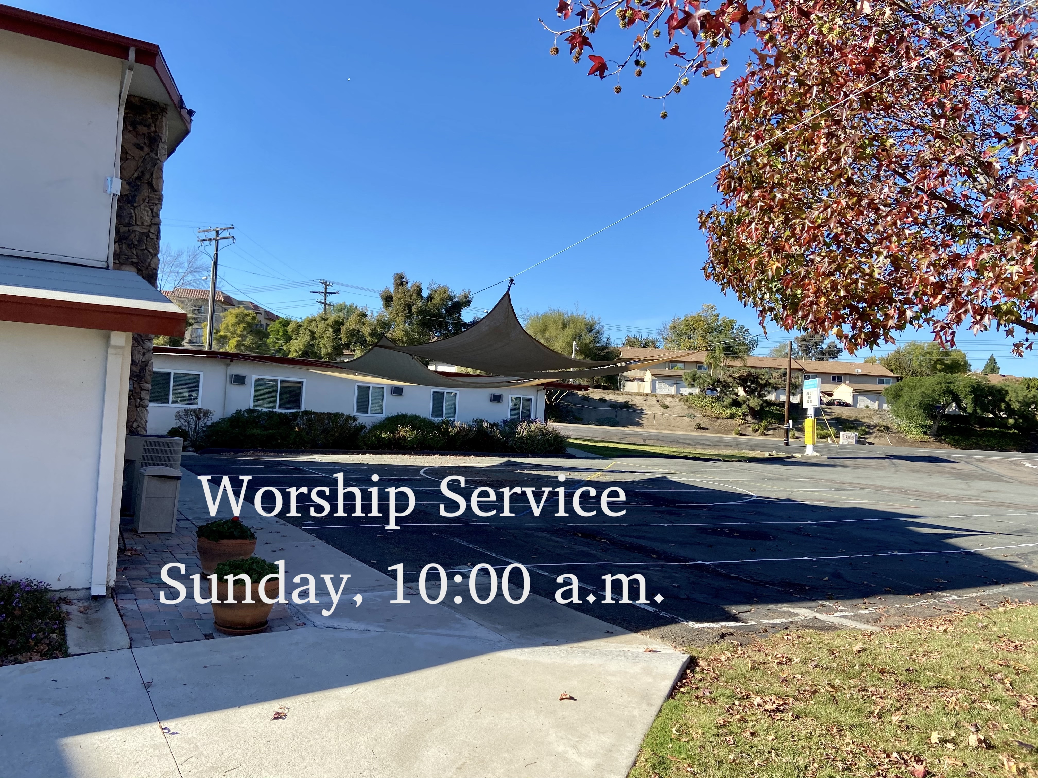 Outdoor 10 am worship