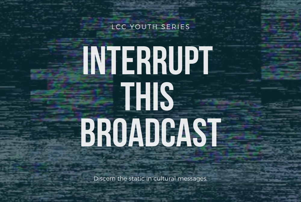 Interrupt This Broadcast banner