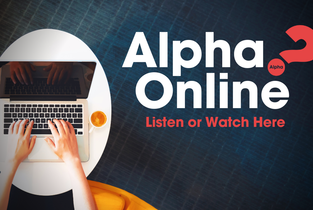 The Alpha Course banner
